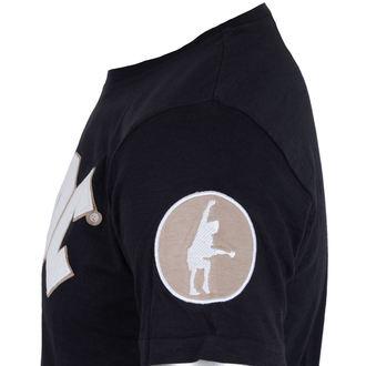 tee-shirt métal pour hommes AC-DC - Logo & Angus Applique Slub - ROCK OFF, ROCK OFF, AC-DC