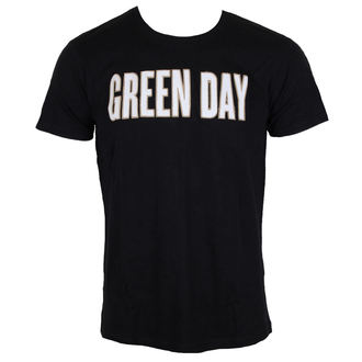 tee-shirt métal pour hommes Green Day - Logo & Grenade Applique Slub - ROCK OFF, ROCK OFF, Green Day
