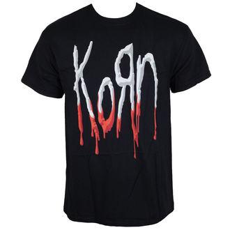 tee-shirt métal pour hommes Korn - Bloody Logo -, Korn