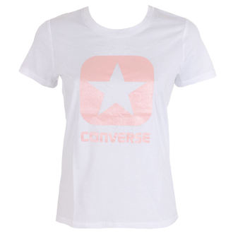 tee-shirt street pour femmes - Metallic Boxstar - CONVERSE, CONVERSE