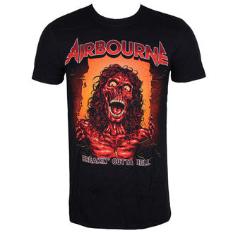 tee-shirt métal pour hommes Airbourne - BOH SKELETON T - LIVE NATION, LIVE NATION, Airbourne