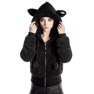 sweat-shirt avec capuche pour femmes - Satanicat - KILLSTAR, KILLSTAR