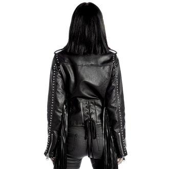 veste en cuir pour femmes - Harlet - KILLSTAR, KILLSTAR