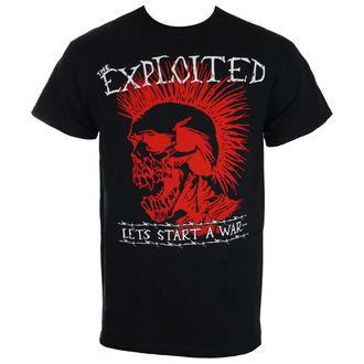 tee-shirt métal pour hommes Exploited - LET'S START A WAR - RAGEWEAR, RAGEWEAR, Exploited