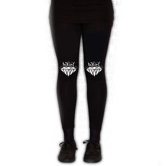 pantalon pour femmes (leggings) WALLS OF JERICHO - DIAMONDS - Noir - RAGEWEAR, RAGEWEAR, Walls of Jericho