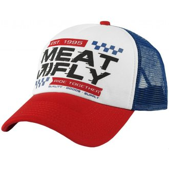 casquette MEATFLY - Gonzales - A - blanc / Bleu, MEATFLY