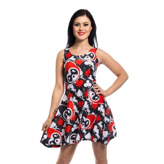 robe femmes KILLER PANDA - CARD - NOIR / ROUGE, KILLER PANDA