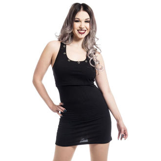 robe femmes HEARTLESS - KIARA - NOIR, HEARTLESS