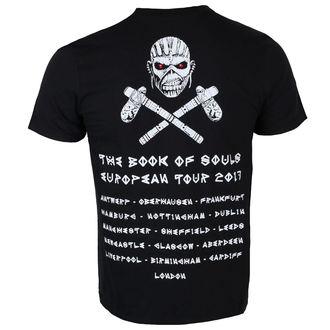 tee-shirt métal pour hommes Iron Maiden - Black - ROCK OFF, ROCK OFF, Iron Maiden