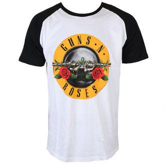 tee-shirt métal pour hommes Guns N' Roses - Circle Logo - ROCK OFF, ROCK OFF, Guns N' Roses