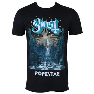 tričko pánské Ghost - Lightbringer Tour 2017 - Black - ROCK OFF, ROCK OFF, Ghost