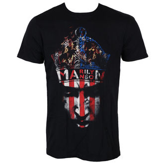 tee-shirt métal pour hommes Marilyn Manson - Crown - ROCK OFF, ROCK OFF, Marilyn Manson
