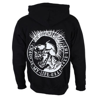 sweat-shirt avec capuche pour hommes Exploited - Chaos is my life - NUCLEAR BLAST, NUCLEAR BLAST, Exploited