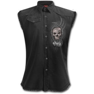 chemise homme sans manches SPIRAL - BOSS REAPER - Noir, SPIRAL