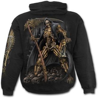 sweat-shirt avec capuche pour hommes - STEAMPUNK SKELETON - SPIRAL