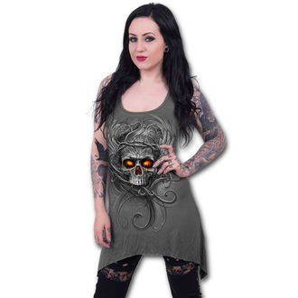 robe femmes SPIRAL - ROOTS OF HELL - gris, SPIRAL