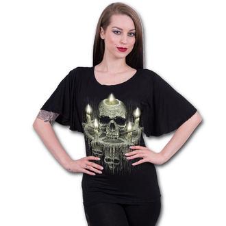 t-shirt pour femmes - WAXED SKULL - SPIRAL, SPIRAL