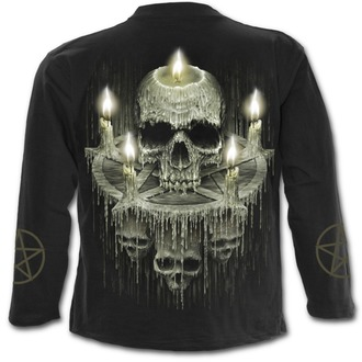 t-shirt pour hommes - WAXED SKULL - SPIRAL, SPIRAL