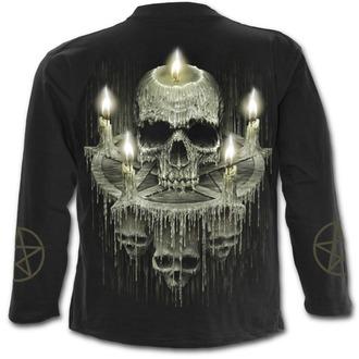 t-shirt pour hommes - WAXED SKULL - SPIRAL, SPIRAL