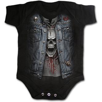 maillot de corps enfant SPIRAL - THRASH METAL - Noir, SPIRAL