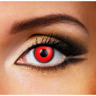 lentilles de contact  DEVIL RED - EDIT, EDIT