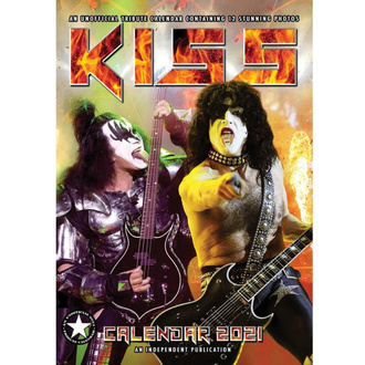 Calendrier 2021 - KISS, NNM, Kiss
