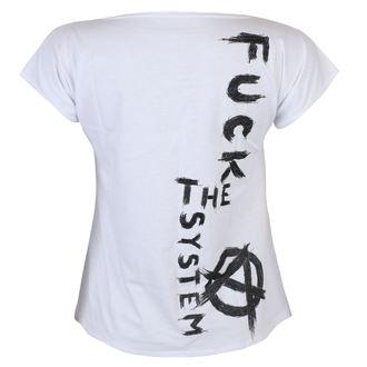t-shirt pour femmes - Fuck the System - ALISTAR, ALISTAR