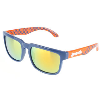 lunettes de soleil Meatfly - Rush B – Blue Orange, MEATFLY
