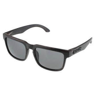 lunettes de soleil Meatfly - Craft A - Noir Bois, MEATFLY