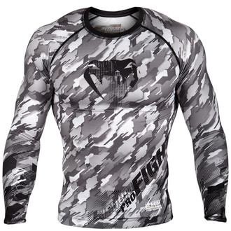 tee-shirt street pour hommes - Tecmo Rashguard - VENUM, VENUM
