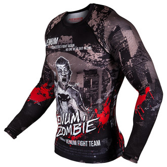 tee-shirt street pour hommes - Zombie Return Rashguard - VENUM, VENUM