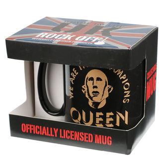 mug QUEEN - ROCK OFF, ROCK OFF, Queen
