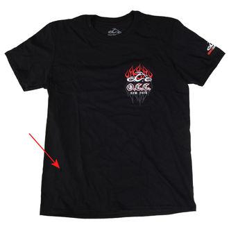 t-shirt pour hommes - Pinstripe Flame - ORANGE COUNTY CHOPPERS, ORANGE COUNTY CHOPPERS
