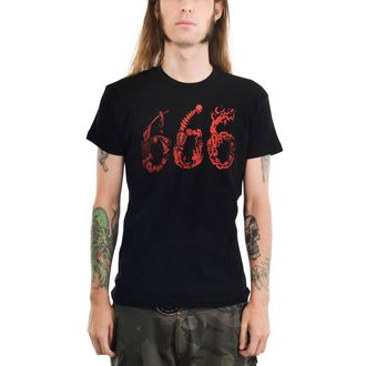 tee-shirt gothic et punk pour hommes - 666 - TOO FAST, TOO FAST