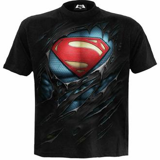 t-shirt pour homme SPIRAL - Superman - RIPPED - Noir, SPIRAL, Superman