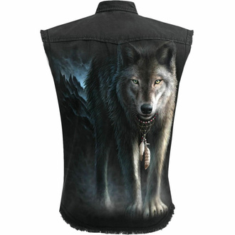 Chemise (gilet) sans manches pour hommes SPIRAL - FROM DARKNESS - Noir, SPIRAL
