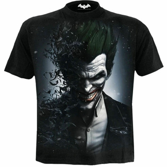 t-shirt pour homme SPIRAL - Batman - JOKER ARKHAM ORIGINES - Noir, SPIRAL, Batman