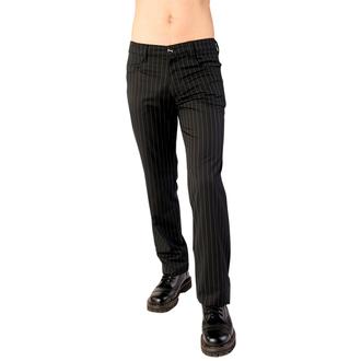 pantalon Aderlass - Jeans Pin Stripe Noir-Blanc, ADERLASS