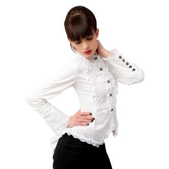 chemisier pour femmes Aderlass - Wing Blouse Fine Denim Blanc, ADERLASS