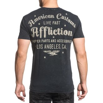 t-shirt hardcore pour hommes - AC Vintage Dealer - AFFLICTION, AFFLICTION