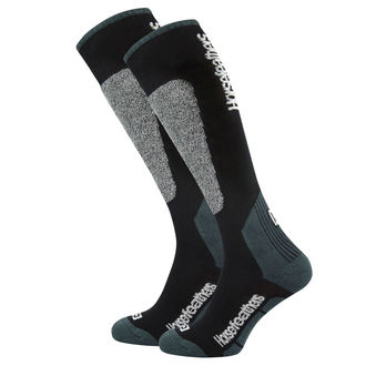 Chaussettes HORSEFEATHERS - CALEB - NOIR, HORSEFEATHERS