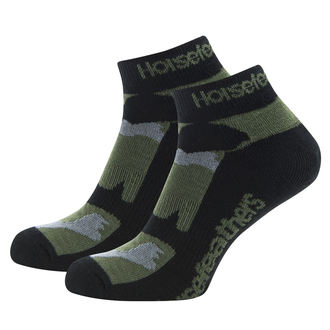 Chaussettes HORSEFEATHERS - JETT - olive Camo, HORSEFEATHERS