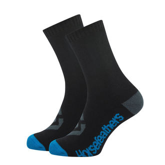 Chaussettes HORSEFEATHERS - LOBY -  BLEU , HORSEFEATHERS