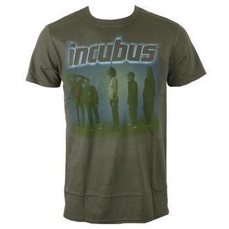 tee-shirt métal pour hommes Incubus - WASHOUT- OLIVE - BRAVADO, BRAVADO, Incubus