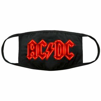 Masque AC/DC - Néon Logo - Noir - ROCK OFF, ROCK OFF, AC-DC