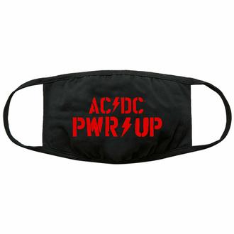Masque AC/DC - PWR-UP Logo - Noir - ROCK OFF, ROCK OFF, AC-DC