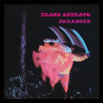 Affiche encadrée Black Sabbath (Paranoid) - PYRAMID POSTERS, PYRAMID POSTERS, Black Sabbath
