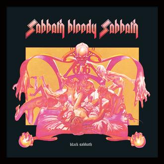Encadré affiche Black Sabbath - (&&string0&&) - PYRAMID POSTERS, PYRAMID POSTERS, Black Sabbath