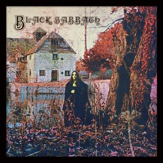 Encadré affiche Black Sabbath - (&&string1&&) - PYRAMID POSTERS, PYRAMID POSTERS, Black Sabbath