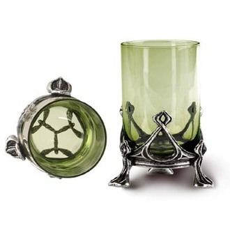 pantin pour Absinth La fee Verte Shot Glass ALCHEMY GOTHIC